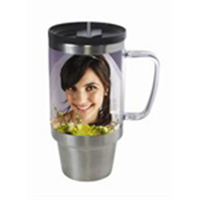 Picture of 16 oz Stainless Steel Travel Mug