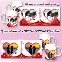 Picture of Valentines set of 2 Mugs
