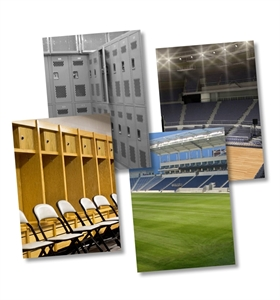 Picture of Locker/Stadium Background